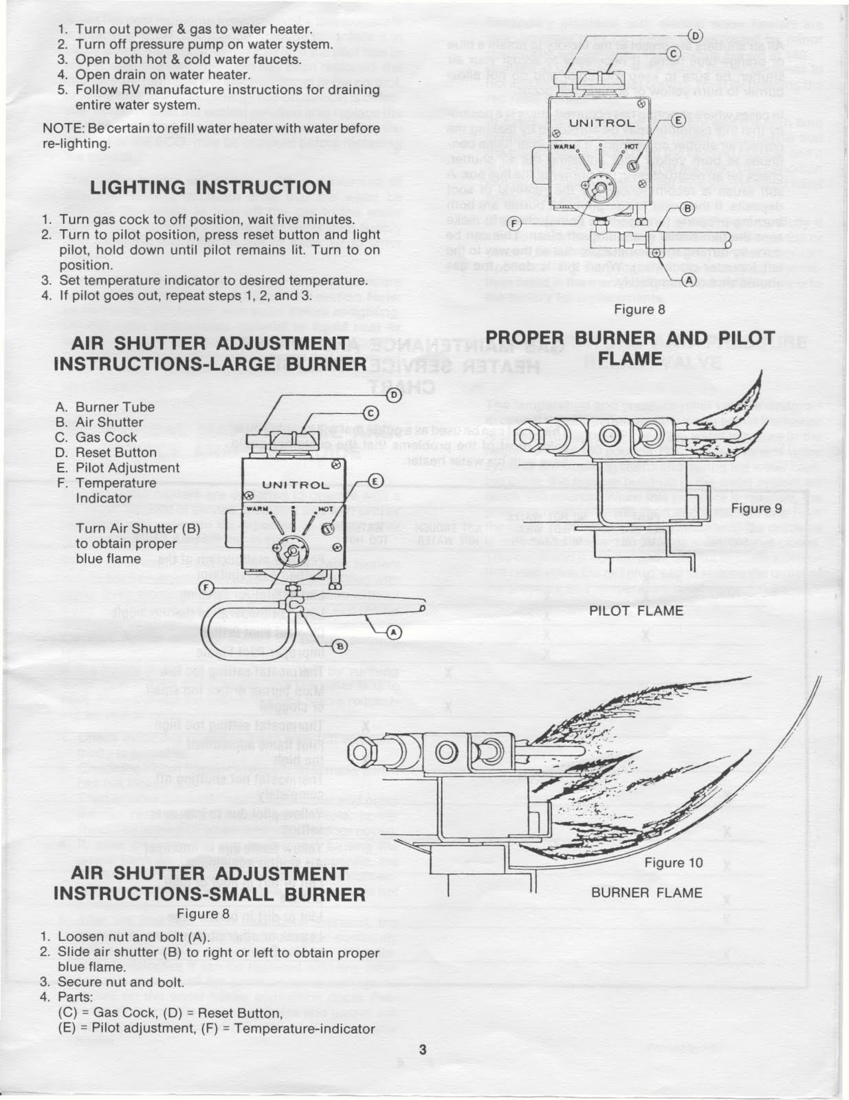 hight resolution of mor flo water heater installation and service manual 6500015